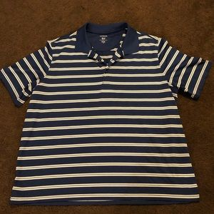 EUC George Striped Polo/Rugby Shirt